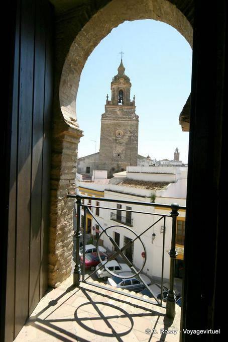 Vista mouro do puerta de sevilla carmona espanha andaluzia - Puerta de sevilla carmona ...