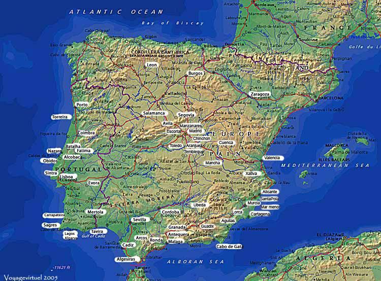mapa de lorca espanha Espanha mapa mapa de lorca espanha