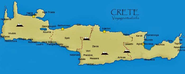 Favoritos Por aí: Creta: a maior das ilhas gregas IZ74