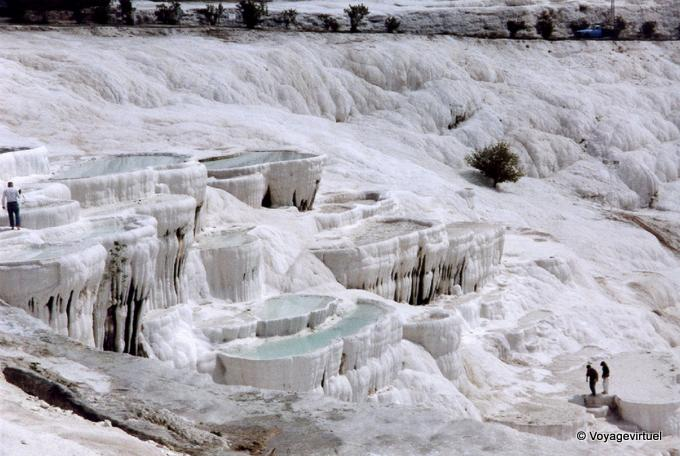 Pamukkale Thermal Pools, Turquia
